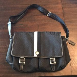 Coach Laptop/book bag- Perfect Condition!